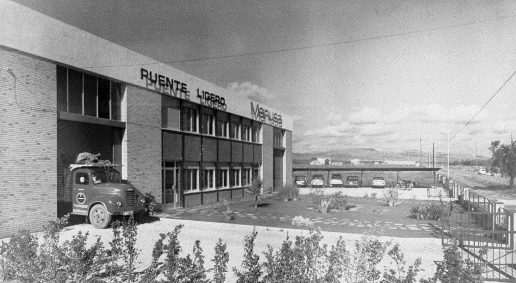manusa puertas automaticas automatic doors historia history inicios puente ligero fotografia