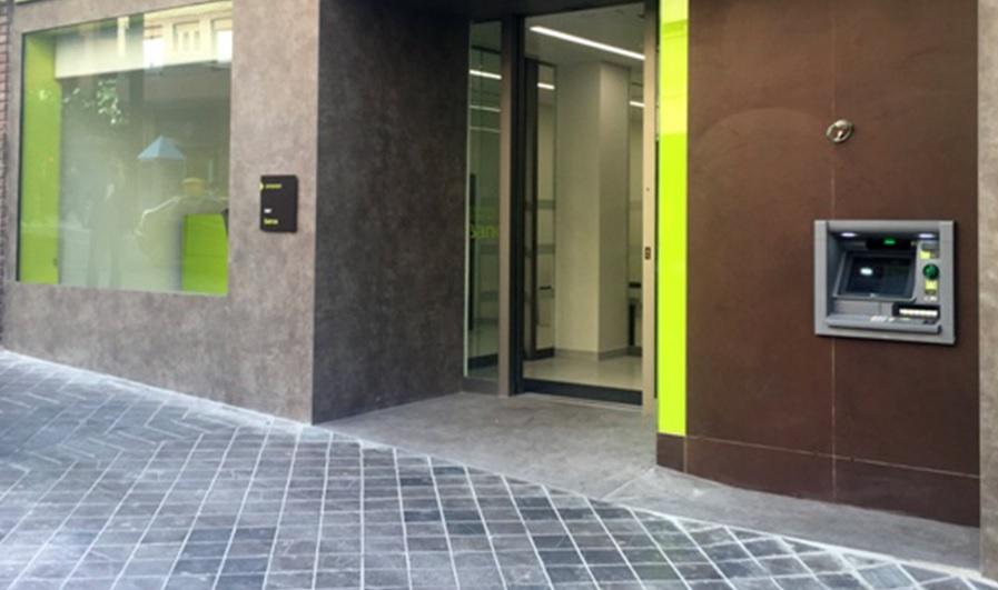 puertas automaticas automatic doors puerta banca banco entidad financiera bank