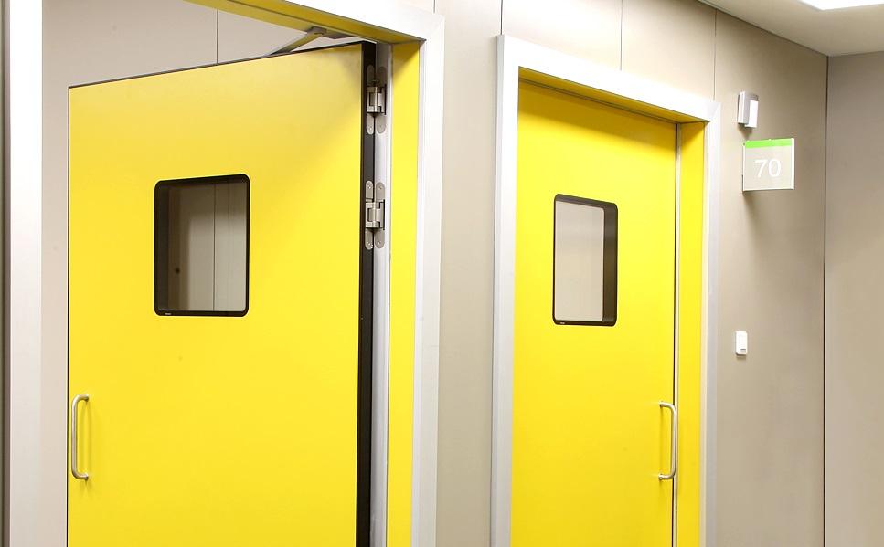 puerta automatica abatible door automatic hospitals hospital clinica accesible folding doors