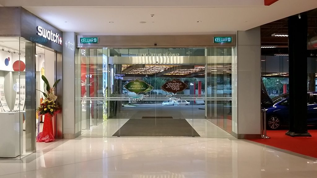 best automatic doors asia manusa company install mall building office