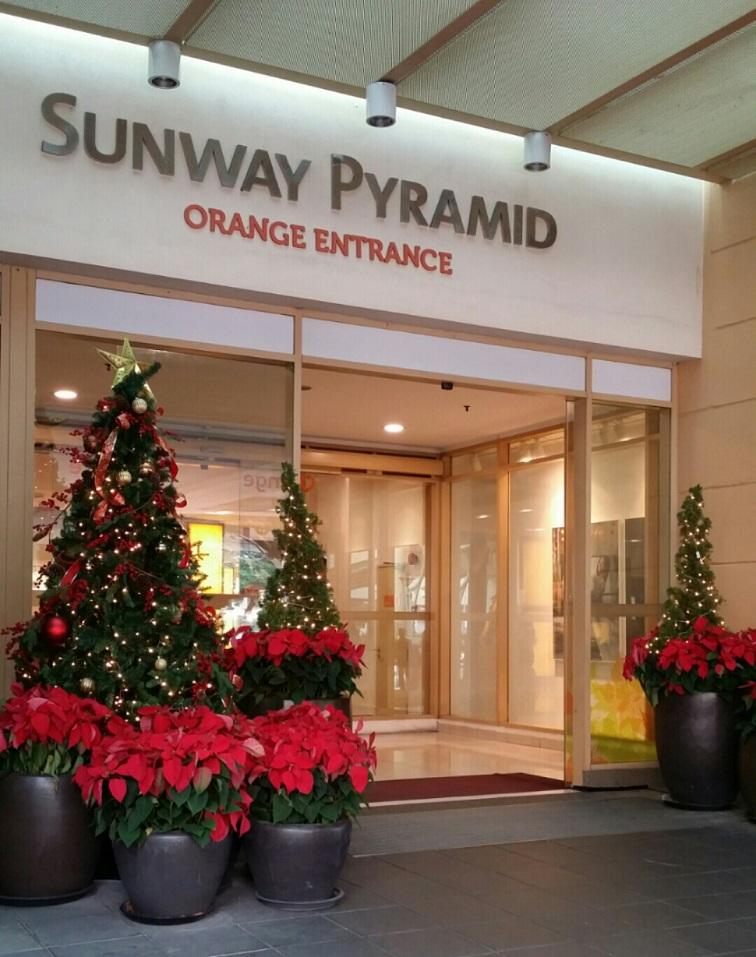 Sunway Pyramid malaysia malasia automatic doors puertas automaticas entrada access manusa Bansho Sdn Bhd