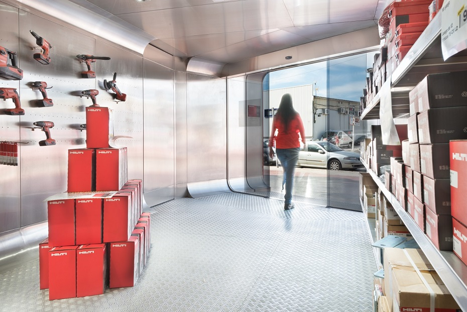 tienda comercio puerta automatica hilti palma mallorca comprar herramientas profesionales shop commerce automatic door baleares