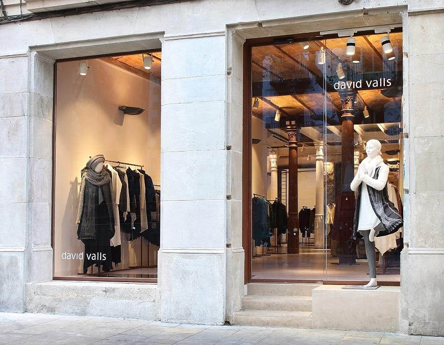 retail tienda david valls barcelona puerta automatica store shop automatic door