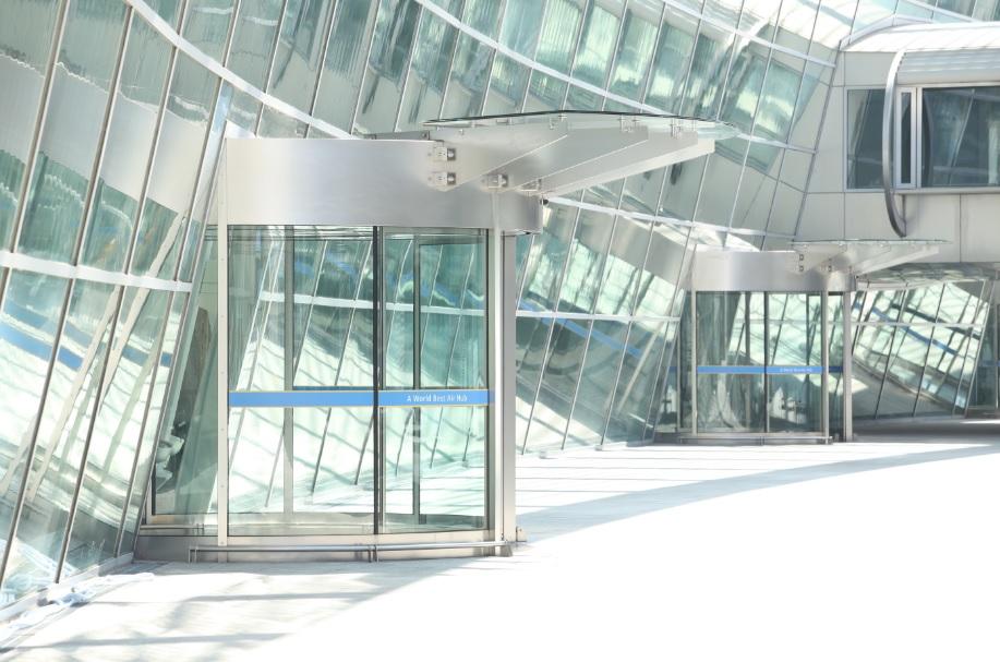 automatic doors south corea train station