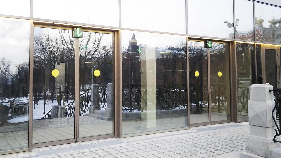 puertas automaticas invierno calefaccion eficiencia energetica