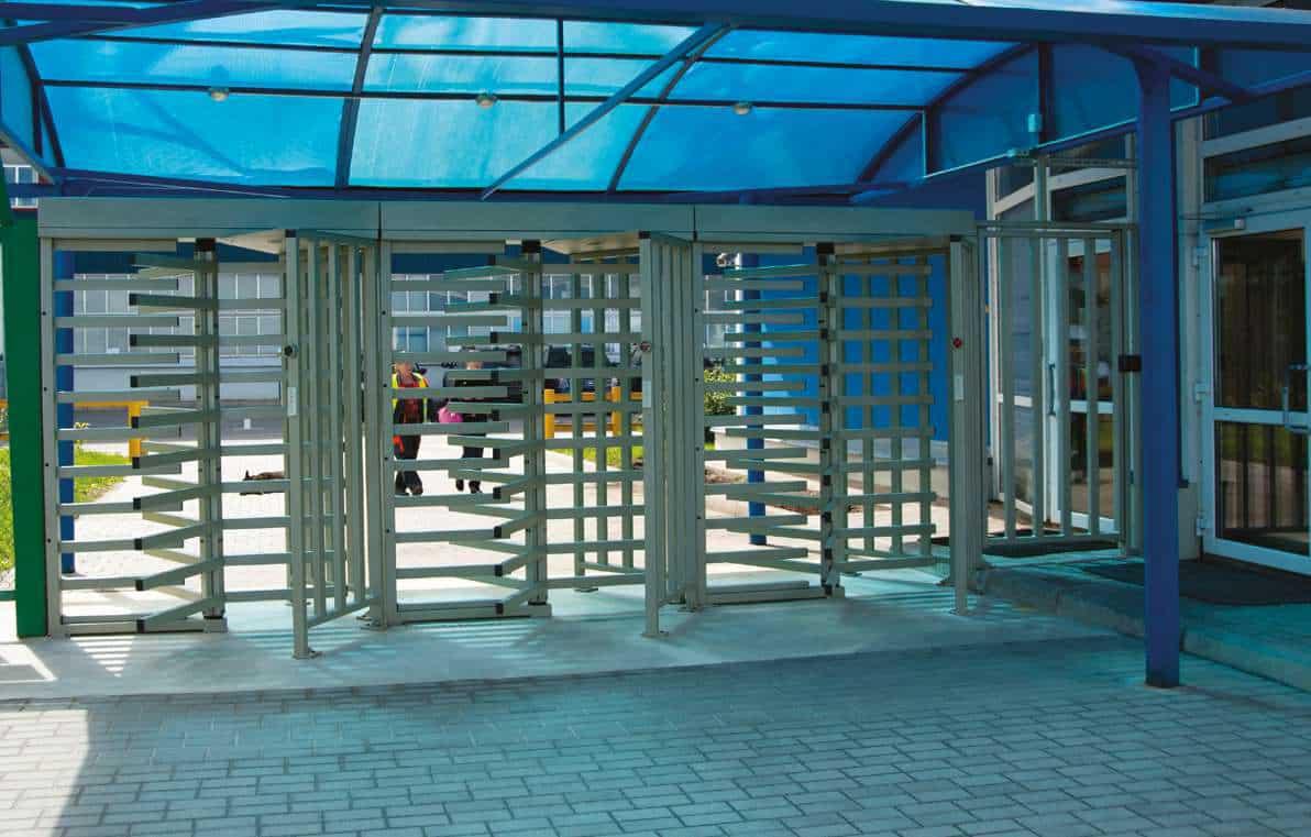 estadio molinete control acceso manusa automatico
