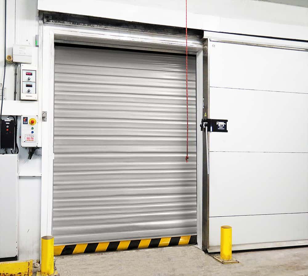 camara frio industria alimentaria puerta automatica fridge automatic door industry