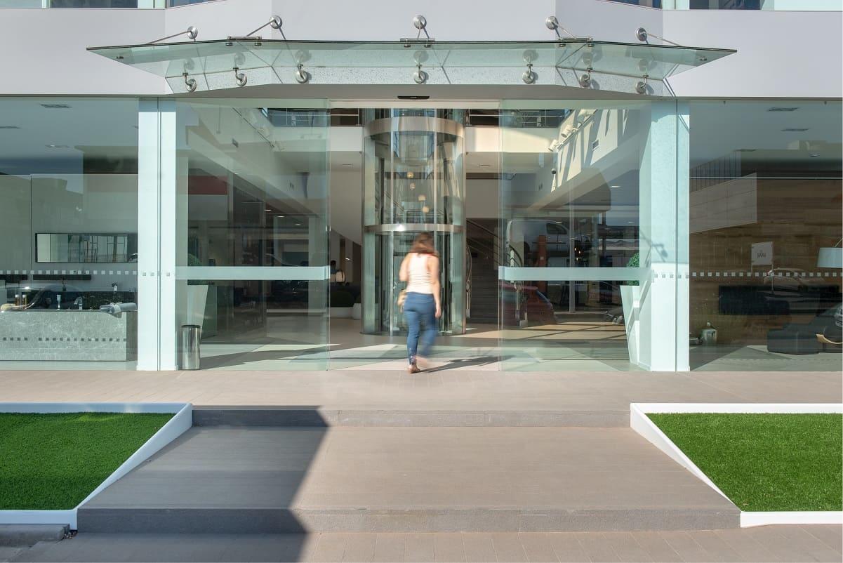 puerta automatica manusa sostenibilidad sostenible sustainable